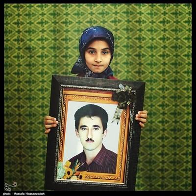 مریم نصیری وطن ۱۰ ساله ساکن شهرستان آزادشهر