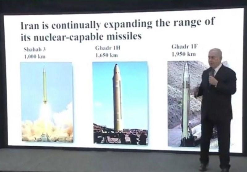 گاف موشکی نتانیاهو/ تلاش برای فشار رسانهای با تحریف موشکهای بالستیک ایران