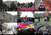 آذربایجان غربی| استقبال مردم از جشنواره گلها در دهکده ساحلی چیچست به روایت تصویر