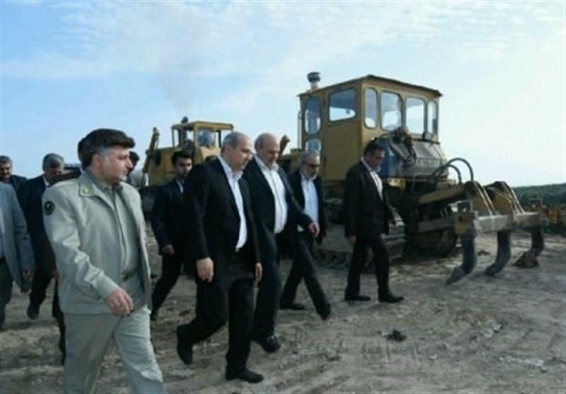 گرگان| بازدید رئیس سازمان محیط زیست از روند احداث پارک پسماند گرگان