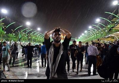 بارش باران در کربلا