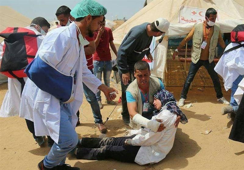 تحولات فلسطین| یورش نظامیان صهیونیست به راهپیمایی «جمعه کارگران فلسطین»+تصویر