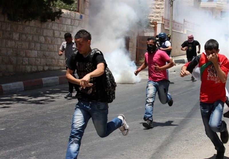 إصابات خلال مواجهات مع الاحتلال الصهیونی فی الخلیل