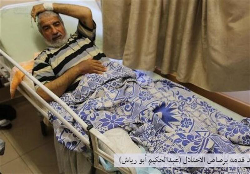 قطع دو پا، هدیه رژیم صهیونیستی به پیرمرد فلسطینی در روز تولدش