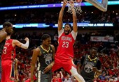 لیگ NBA| پیروزی پلیکانز با درخشش دیویس/ وریرز در لس آنجلس باخت