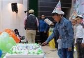 جشن تولد فرزندان اردیبهشتی شهدای فاطمیون+تصاویر