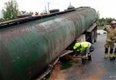 مرکزی| آخرین جزئیات از حادثه برای تانکر حمل سوخت در ساوه