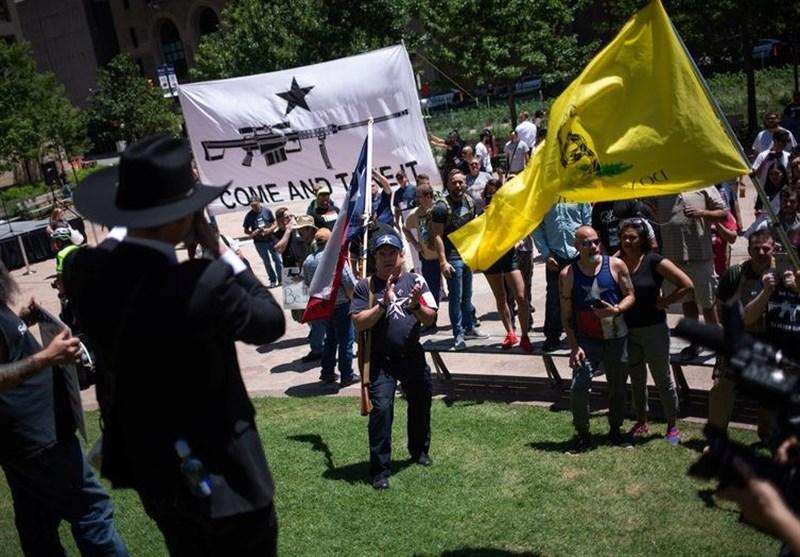 معترضان خواستار تشدید قوانین کنترل اسلحه در آمریکا شدند