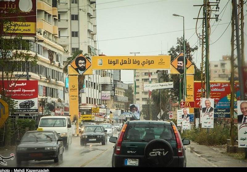 شادی مردم جنوب لبنان از پیروزی نامزدهای مقاومت و همپیمانان