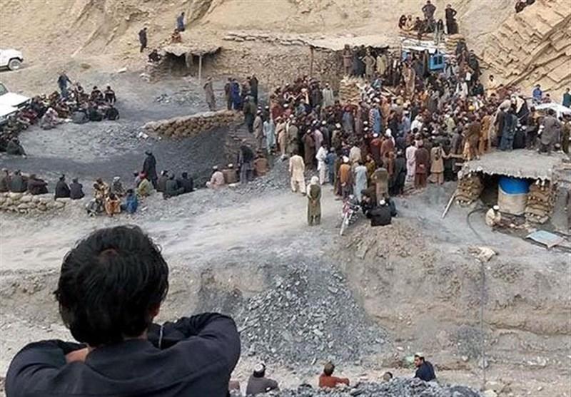 ریزش دو معدن زغال سنگ در پاکستان جان ۱۸ نفر را گرفت