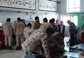 سربازان سپاه استان اصفهان مدرک فنی و حرفهای میگیرند