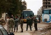 Evacuation of Militants from South of Damascus Continues