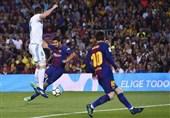 لالیگا|رئال مادرید از خانه بارسلونای 10 نفره با امتیاز خارج شد/ تداوم شکستناپذیری کاتالونیاییها در شب پراشتباه داور