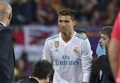 رونالدو دو بازی بعدی رئال مادرید را از دست داد