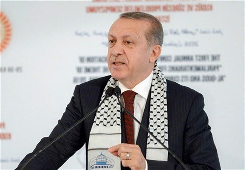 اردوغان برای اعلام همبستگی با فلسطینیان سه روز عزای عمومی اعلام کرد
