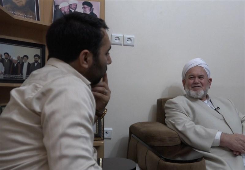 گفتگوی خواندنی با یک امام جمعه اهلسنت؛ روحانی غیرمردمی نماینده رهبری نیست/ فرزندم در سوریه مدافع حرم بود + فیلم