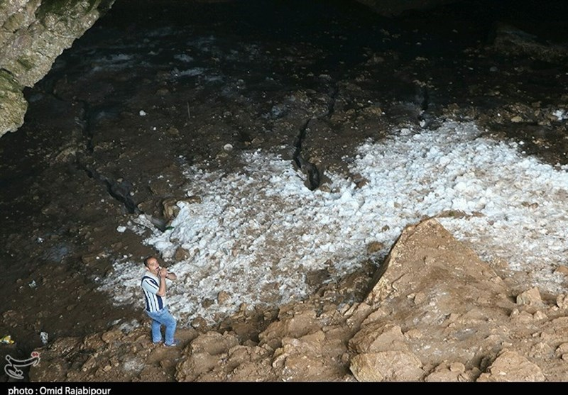 Dorfak Ice Cave; Amazing Source of Water for Locals