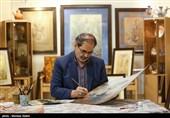 نگارگری جدید رضا بدرالسماء به مناسبت شهادت امام هادی(ع) رونمایی شد+عکس