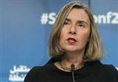 موگرینی: اتحادیه اروپا در حال کار برای عملیاتی کردن سیستم مقابله با تحریمهای آمریکا علیه ایران است