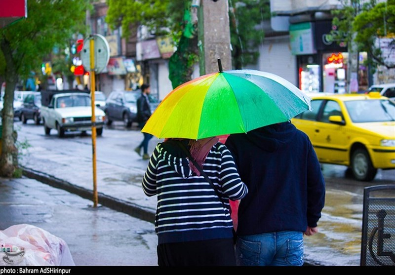 اردبیل| شهر اردبیل پس از باران به روایت تصویر