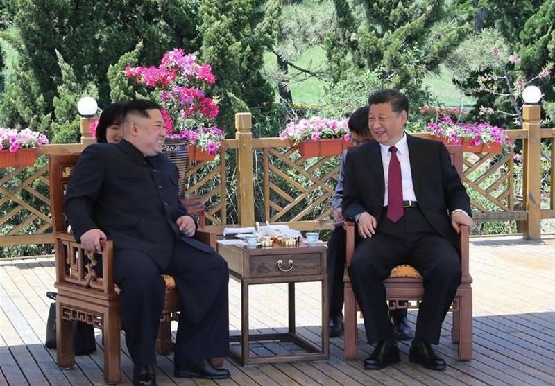 رهبر کره شمالی ۲ روز در چین+عکس
