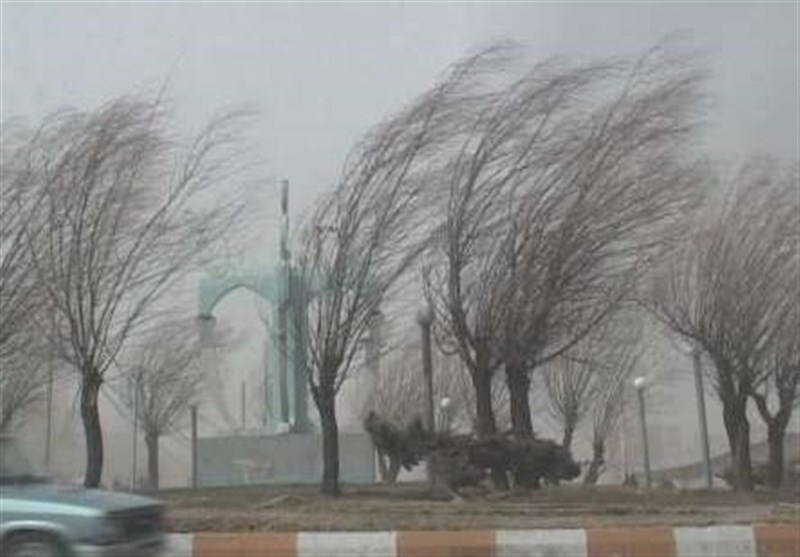 تندباد شدید اردبیل را درمینوردد؛ ادامه کولاک و یخبندان در استان