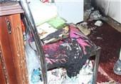 انفجار منزل مسکونی بر اثر پرتاب شیء مشتعل به داخل خانه + تصاویر
