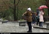 رگبار باران و احتمال بارش تگرگ در 17 استان کشور