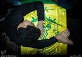 پیکر مطهر 4 شهید فاطمیون به خاک سپرده شد+عکس