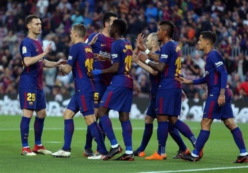 لالیگا| بارسلونا با برتری در بازی معوقه به رویای یک فصل بدون شکست نزدیک شد