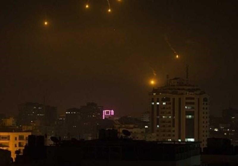 گزارشی از شب داغ جولان اشغالی: پاسخ دمشق به تجاوزات موشکی؛ کدام پایگاههای اسرائیل هدف قرار گرفت؟