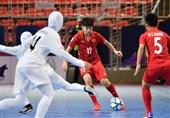 فوتسال بانوان قهرمانی آسیا| ژاپن حریف ایران شد