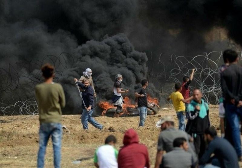 """الفلسطینیون یستعدون للمشارکة بفعالیة فی """"جمعة النذیر"""" على حدود غزة"""