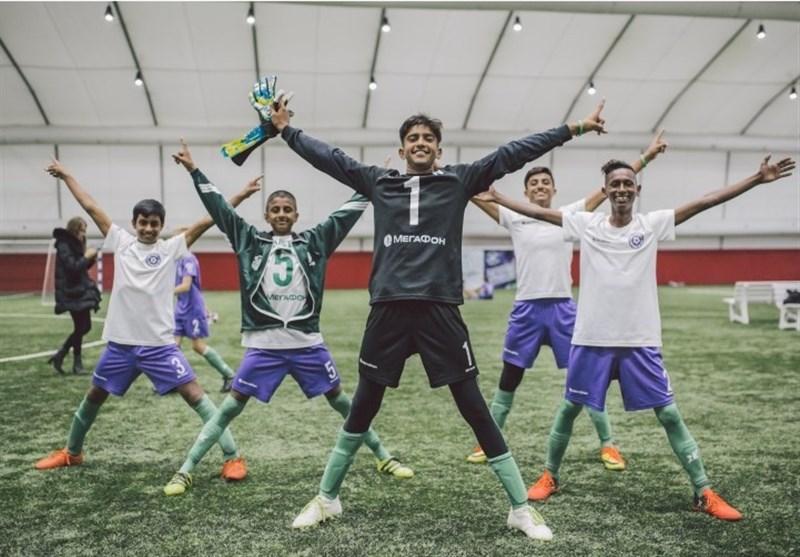آغاز نخستین تورنمنت جهانی فوتبال یتیمان در مسکو
