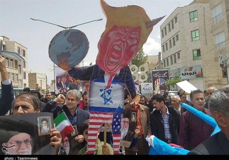 ایلام| راهپیمایی ضداستکباری مردم ایلام بهروایت تصویر