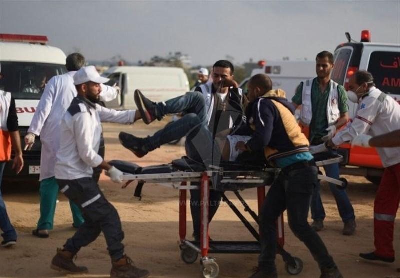 إصابة 36 فلسطینیا بالرصاص الحی من قبل جنود الاحتلال الاسرائیلی