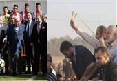 تفاوت رهبران مقاومت و سران سازش در تصویر