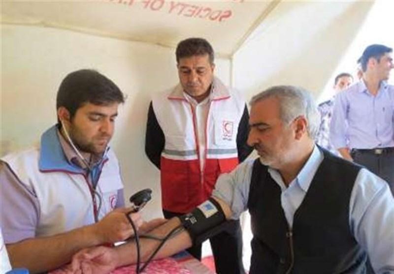 اربعین حسینی| 33 پایگاه هلال احمر فارس پوشش امدادی زائران را برعهده دارند