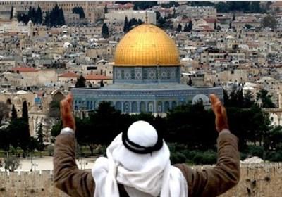 بیت المقدس میں نماز اور فرزندان اسلام کی شرکت