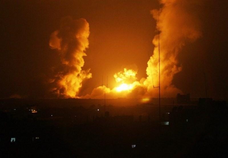 بـ 14 صاروخاً..طائرات الاحتلال الصهیونی تقصف شمال قطاع غزة