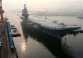 China's First Home-Built Carrier Sets Out for Sea Trials