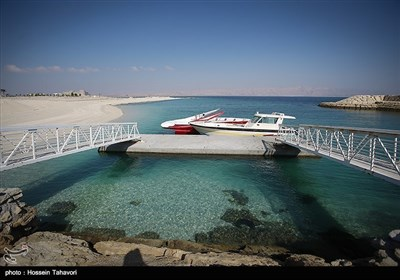 """خلیج فارس کے """"جزیره هِندُرابی"""" کی سیر"""