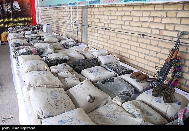 Police Capture over 2.7 Tons of Illicit Drugs in SE Iran