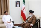 رئیسجمهور سریلانکا با امام خامنهای دیدار کرد
