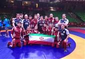 ایران تفوز ببطولة اسیا فی المصارعةالحرة للناشئة