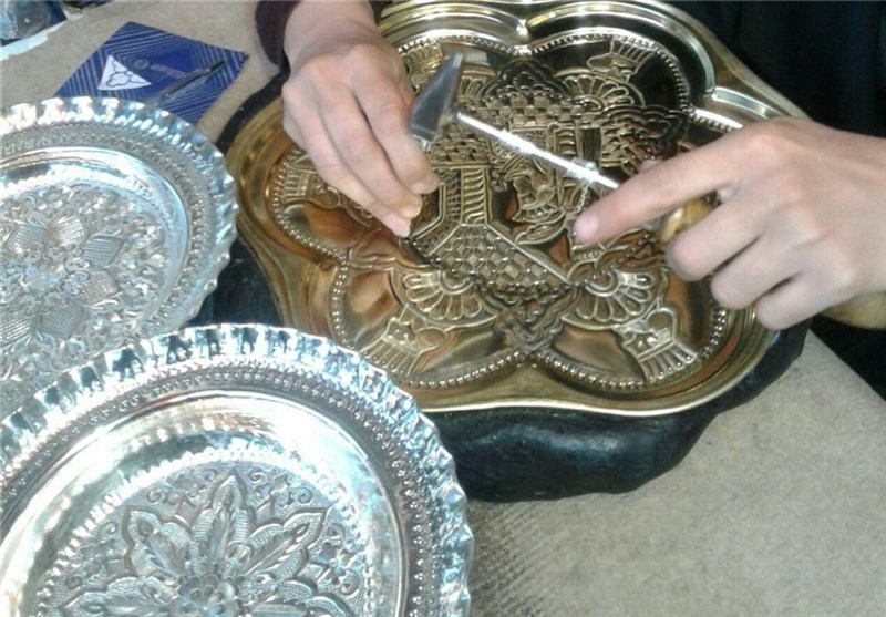 Nickel Silver Crafts; Traditional Art in Western Iran