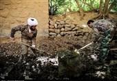 عزم سپاه فتح در آبرسانی به روستاهای کهگیلویه و بویراحمد/ آبرسانی به روستاها از طریق رودخانهها کلید خورد+تصاویر