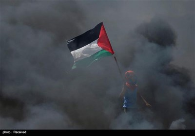 ادامه درگیری در نوار غزه در پی انتقال سفارت امریکا