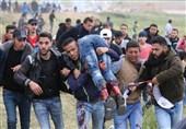 إصابات بالرصاص الحی والاختناق شرق غزة جراء اعتداءات العدو الاسرائیلی