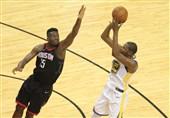 فینال کنفرانس غرب NBA راکتس شکست بازی نخست را جبران کرد